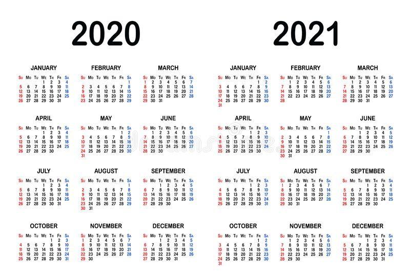 plantillas de calendario para y del en blanco negro con fecha meses año ilustración vectorial image