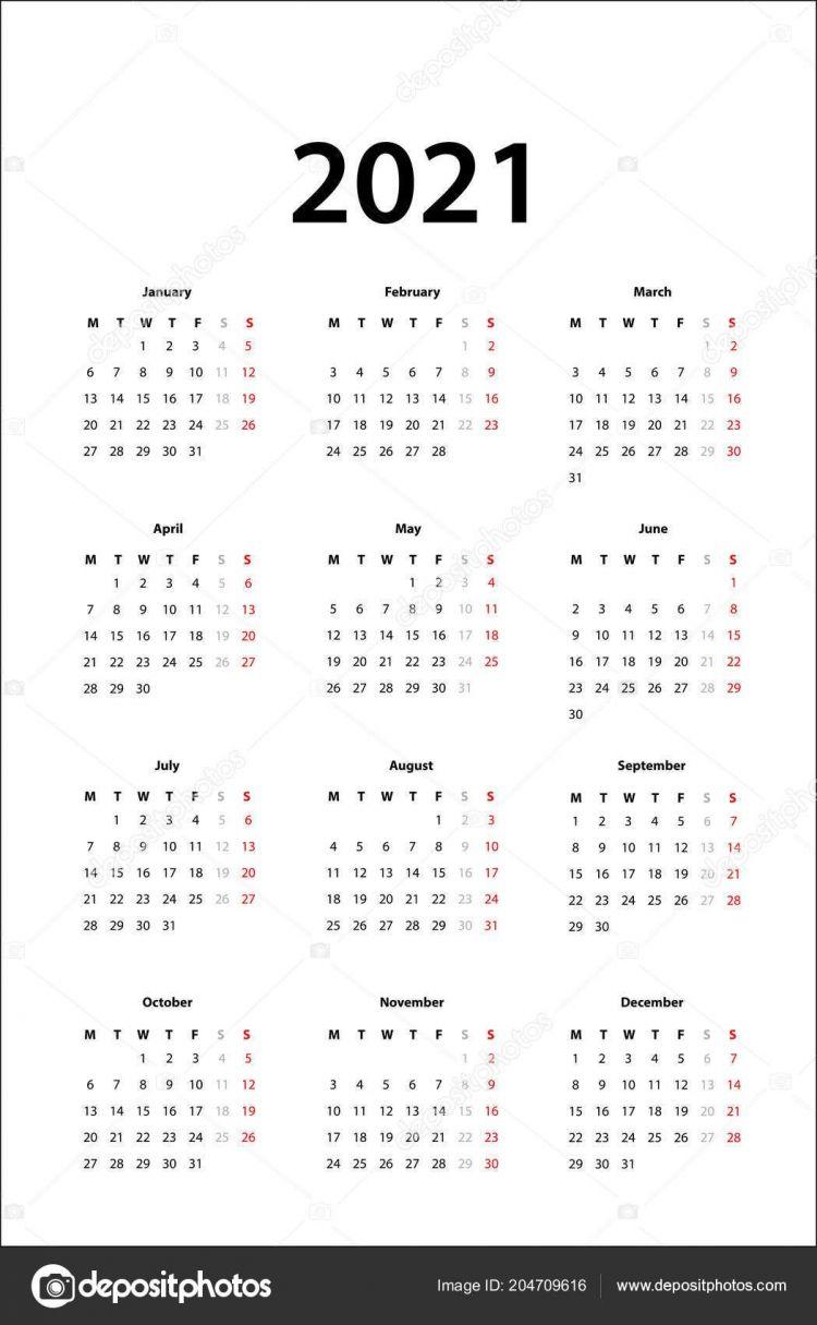 Calendario 2021 España Imprimir Recientes Calendario 2021 Calendario Simple Plantilla Para 2021
