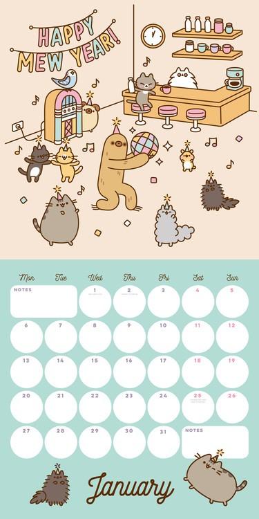 Calendario 2021 Kawaii Más Recientes Calendario Pusheen 2021 Para Imprimir