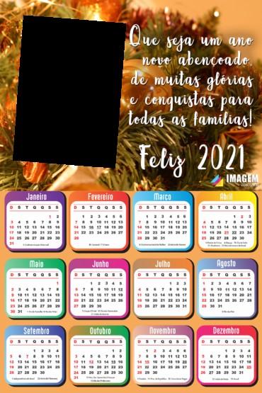 calendario 2021 png feliz ano novo foto moldura