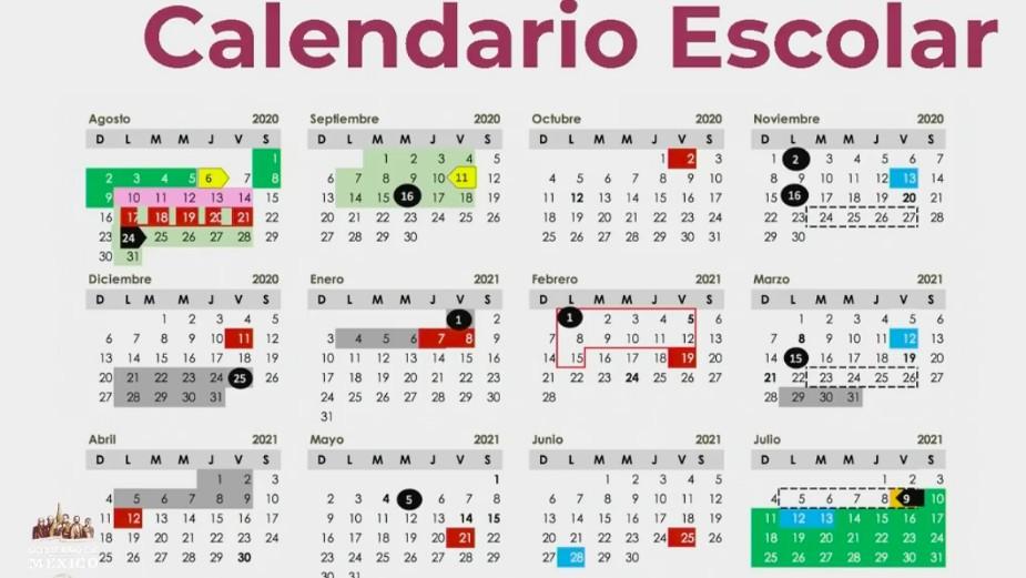 regreso clases sep este es el calendario oficial del ciclo escolar 2020 2021
