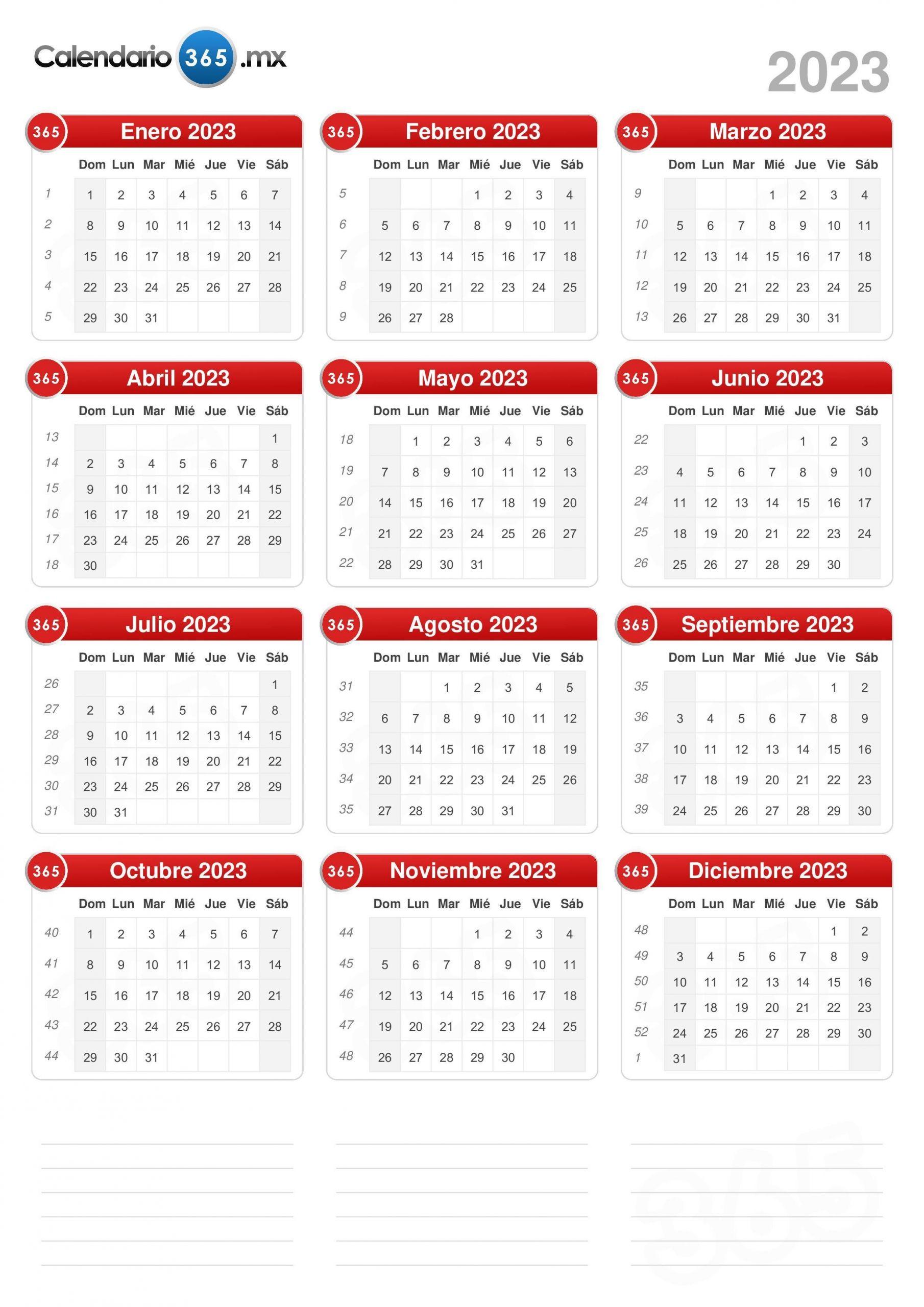 calendario 2023