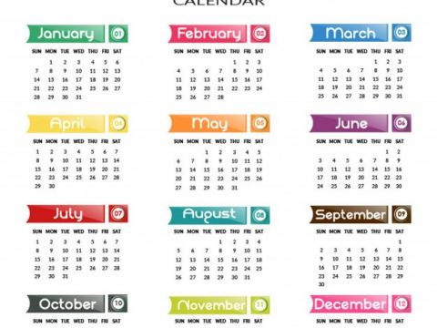 Calendario Anual 2018 Mejores Y Más Novedosos Calendario Anual 2018