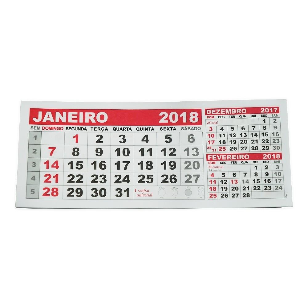 Folhinha Calendario 2018 folhinha calendario brinde mesa lembranca data 6690