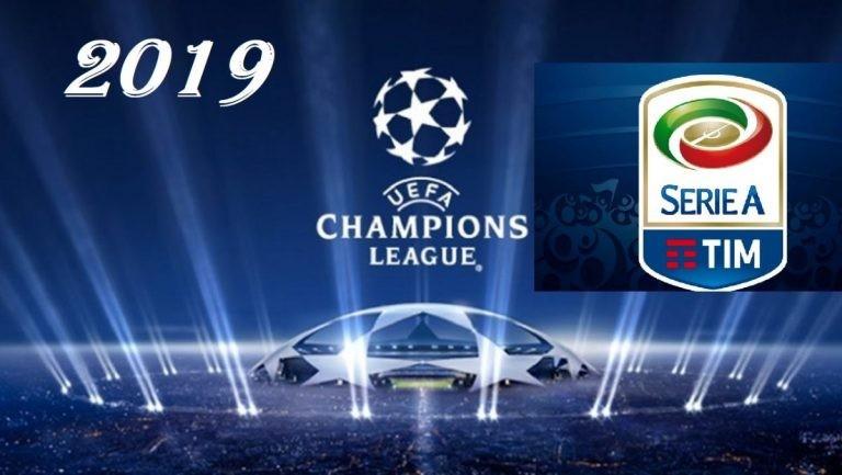 lotta champions serie a 2019 calendario inter milan roma atalanta lazio torino previsioni meteo italia 17 aprile