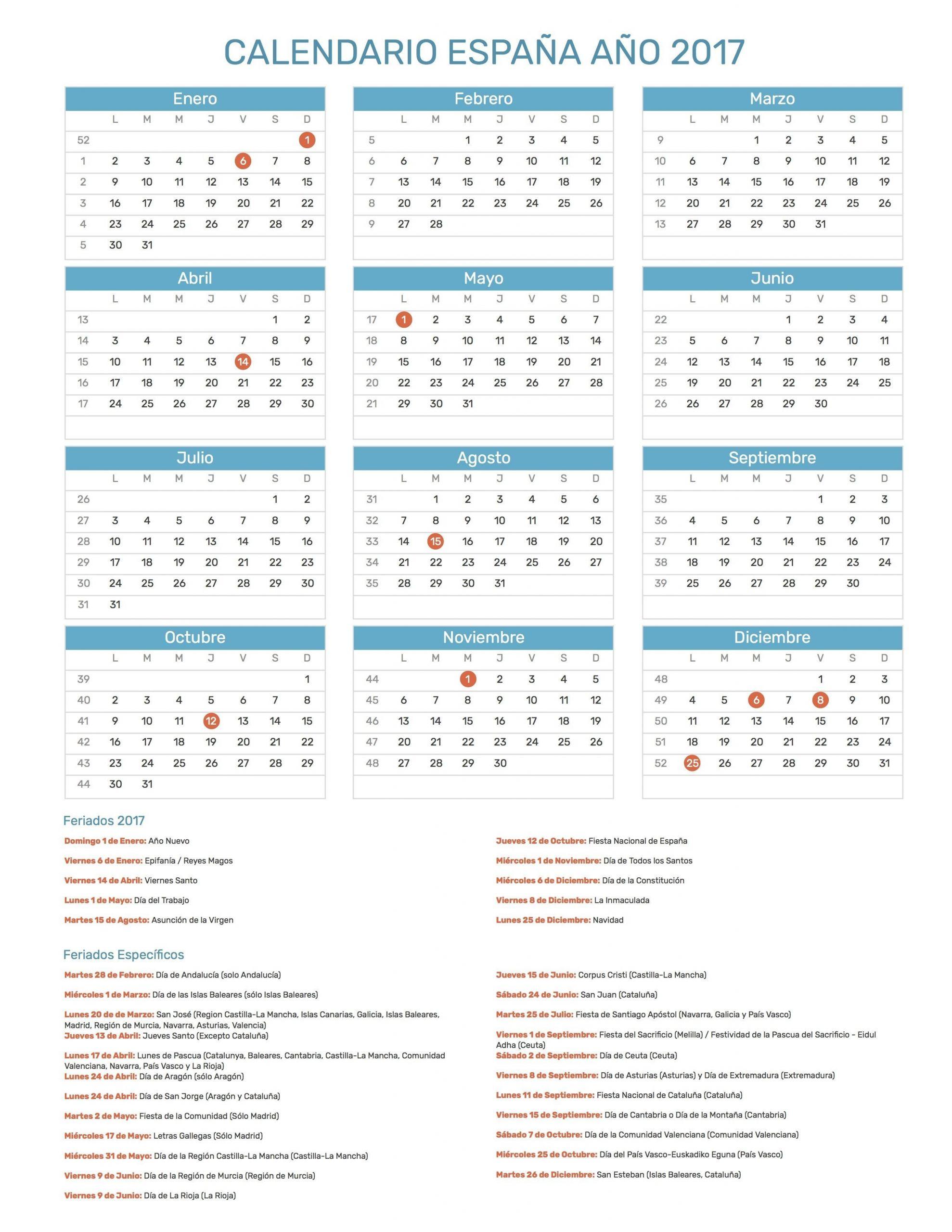 calendario por semanas 2020 colombia
