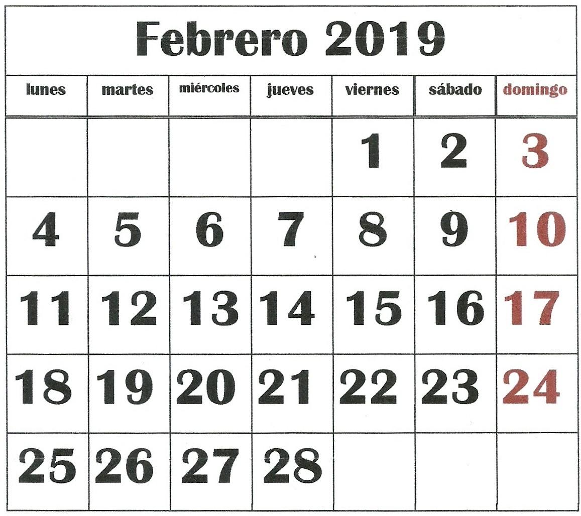 mi almanaque 2019