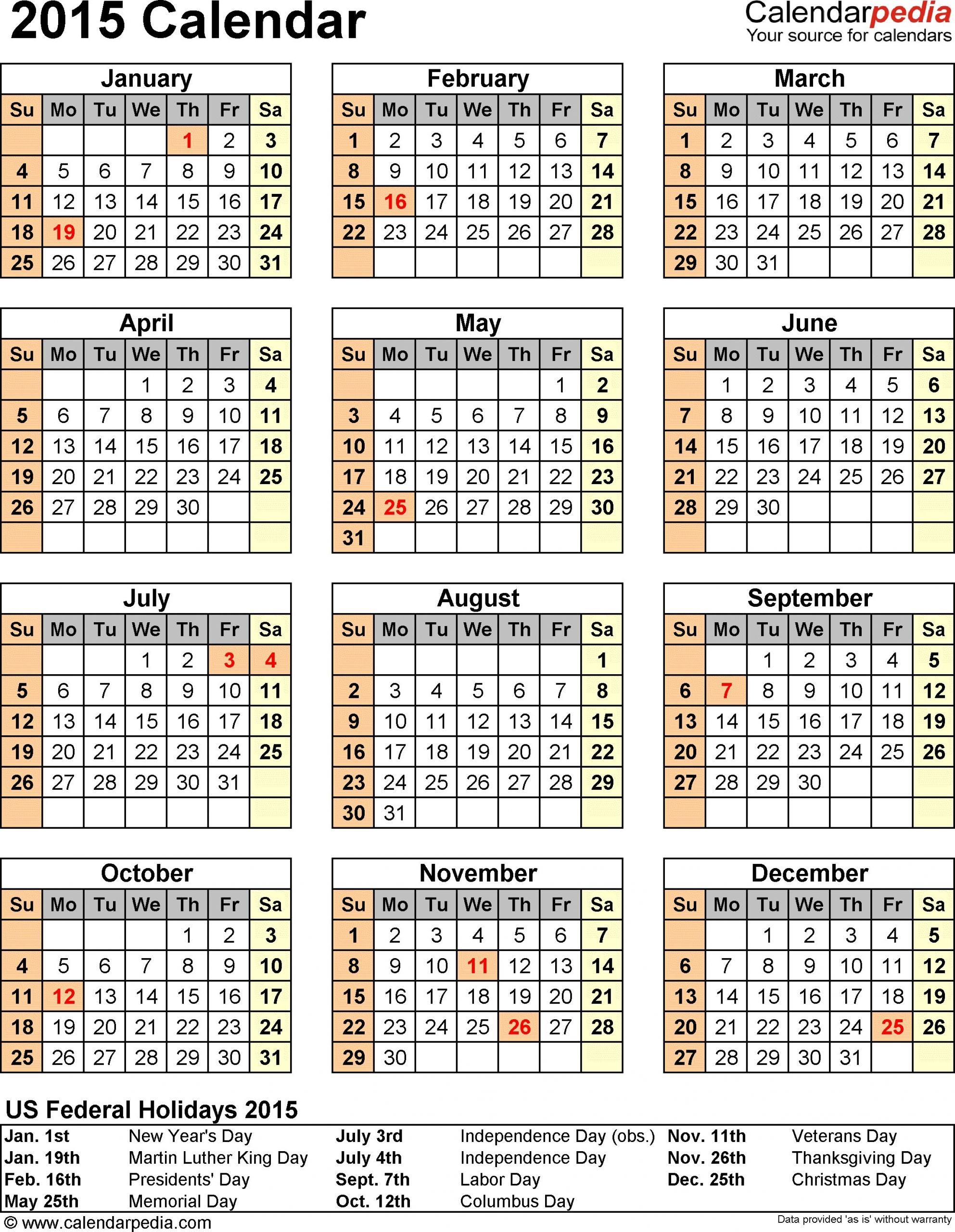 o imprimir un calendario en word 2010