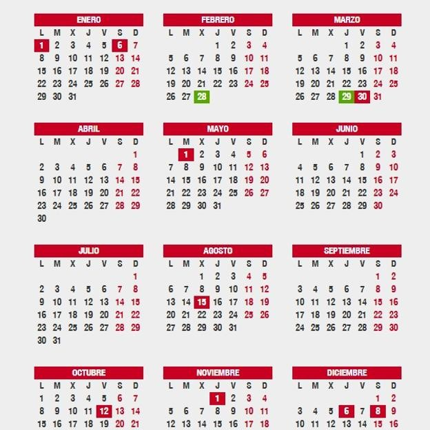 semana santa 2018 cuando cae fechas puentes calendario laboral nt