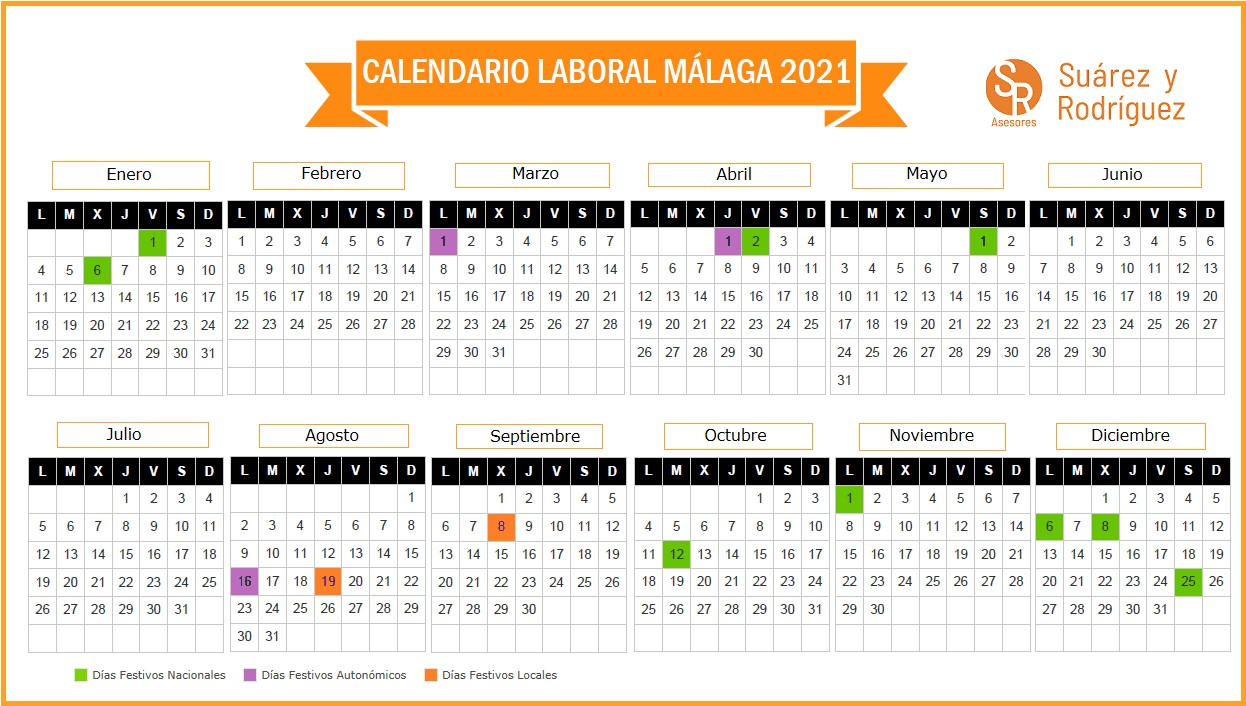 calendario laboral malaga 2021