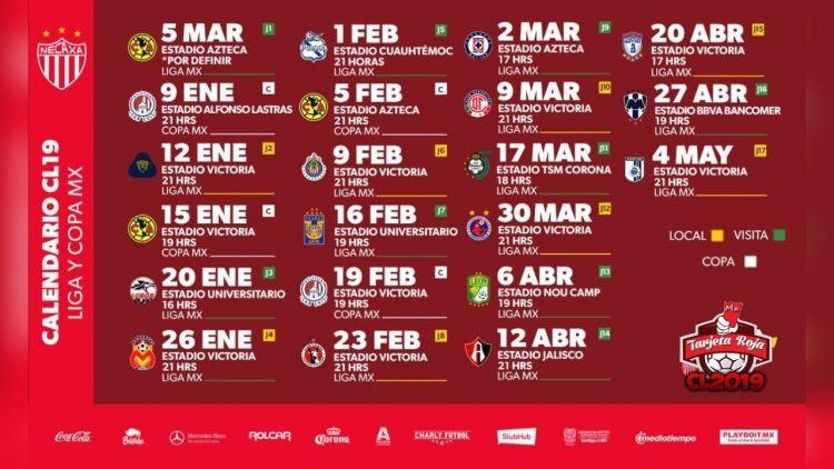Calendario Liga Mx Más Reciente Calendario Liga Mx 2019 2020