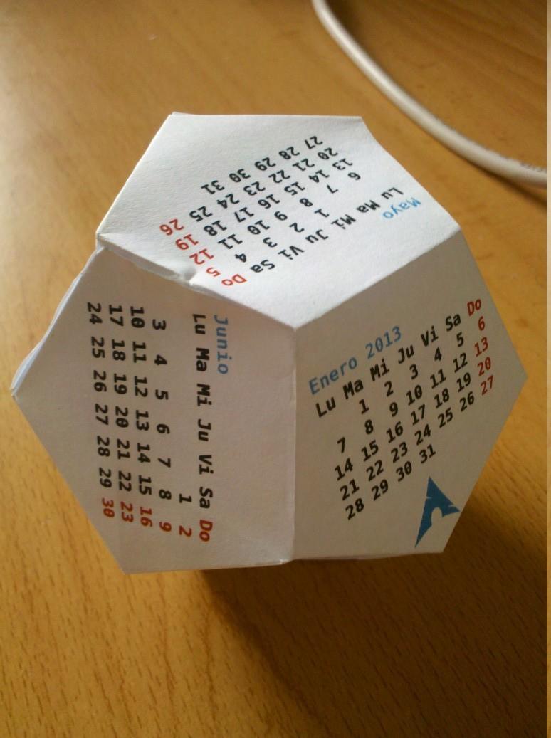 calendario arch linux 2013