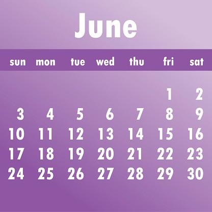 calendario de junio 2018 la semana ienza el domingo plantilla para un mes 2018 gm
