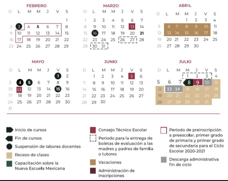 conoce el calendario escolar de la sep para el ciclo 2019 2020