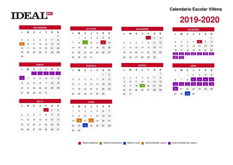 Calendario Sep Actual Calendario Escolar