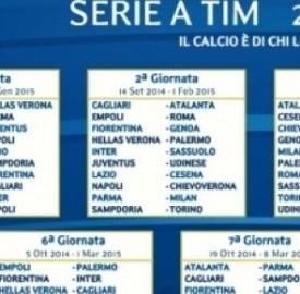 Calendario Serie A Tim Más Populares Calendario Serie A Tim 2014 2015 La Date Ufficiali Del