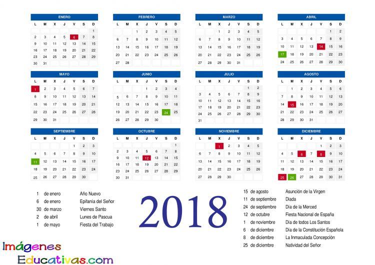 Calendarios Para Imprimir Septiembre 2018 Más Arriba-a-fecha Calendario 2018 2 Imagenes Educativas