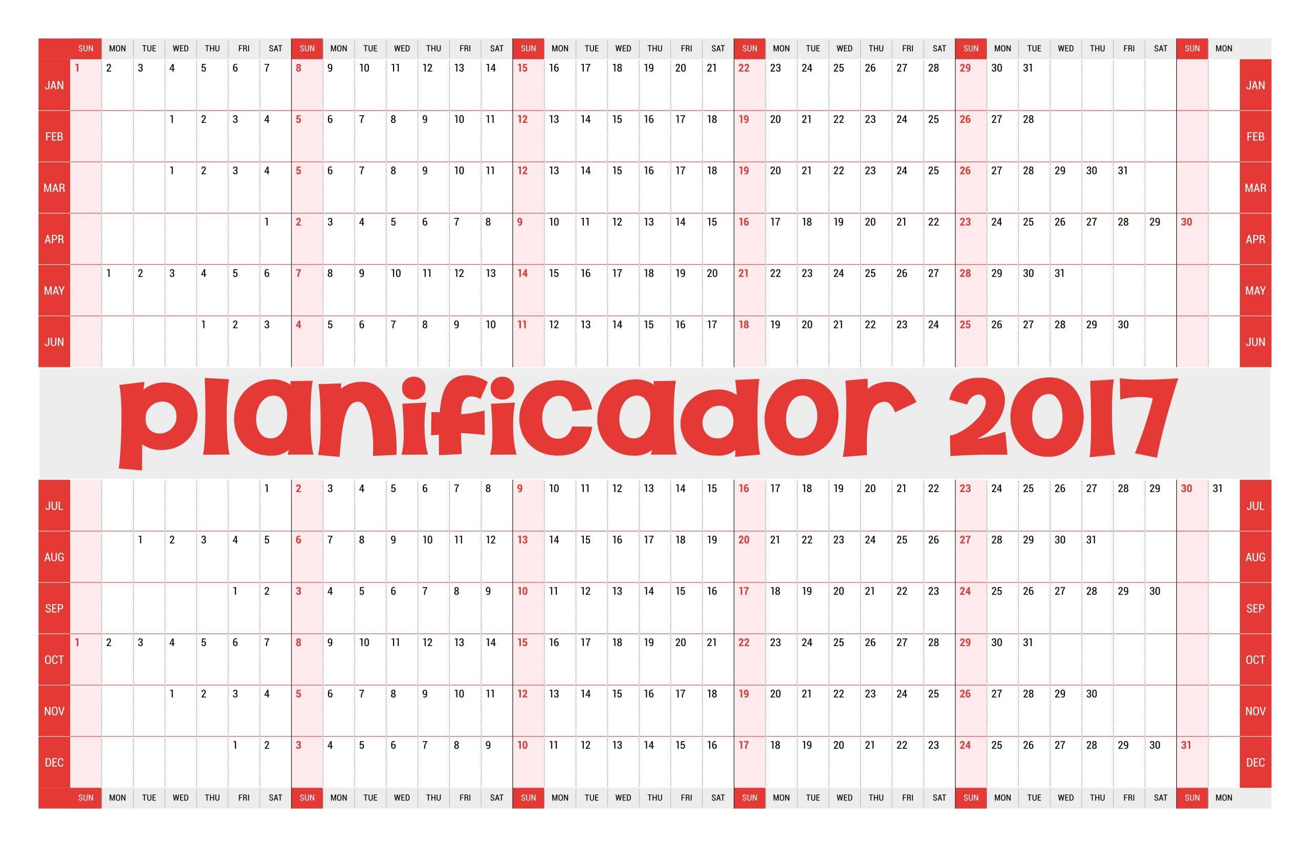 calendario 2019 colombia editable