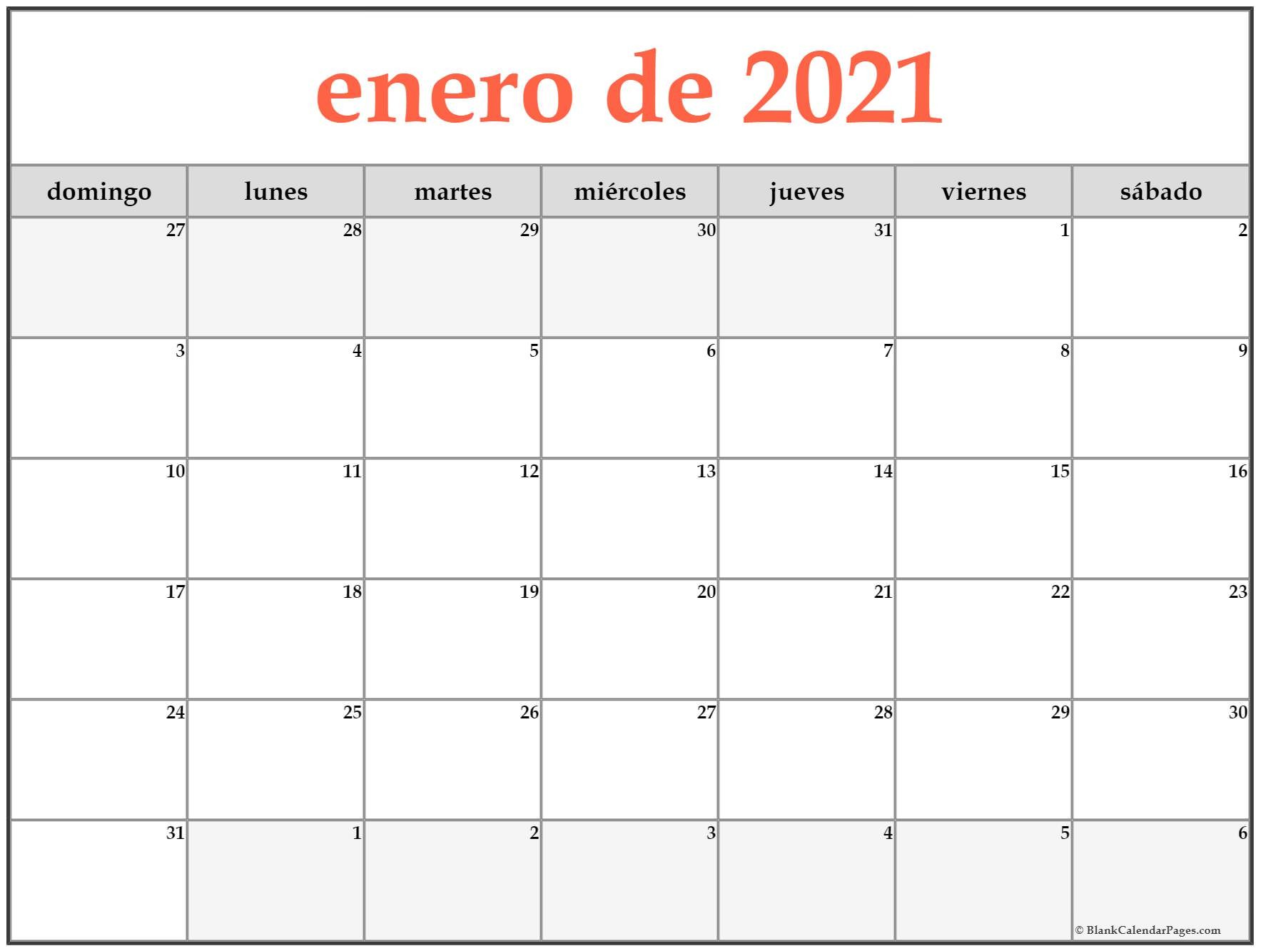 CAL=enero de 2018 calendario