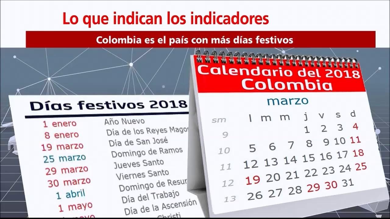 dias festivos en colombia