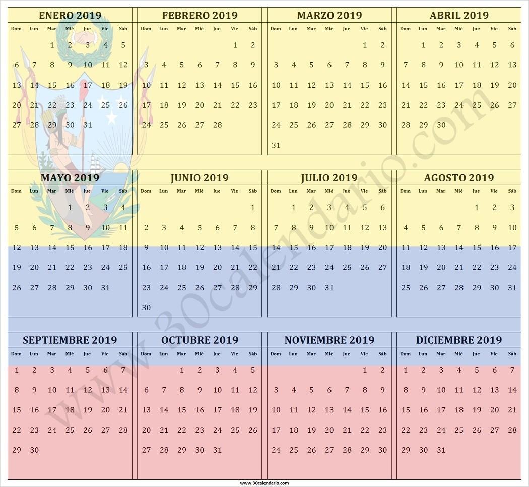 calendario 2019 festivos en colombia