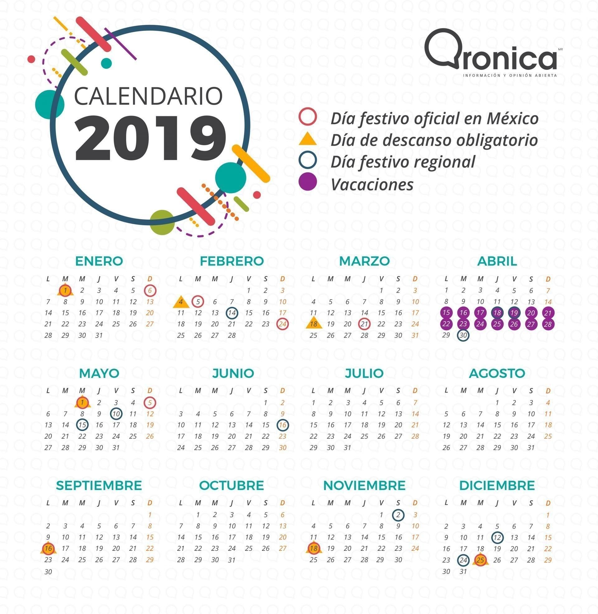 dias festivos mexico 2019