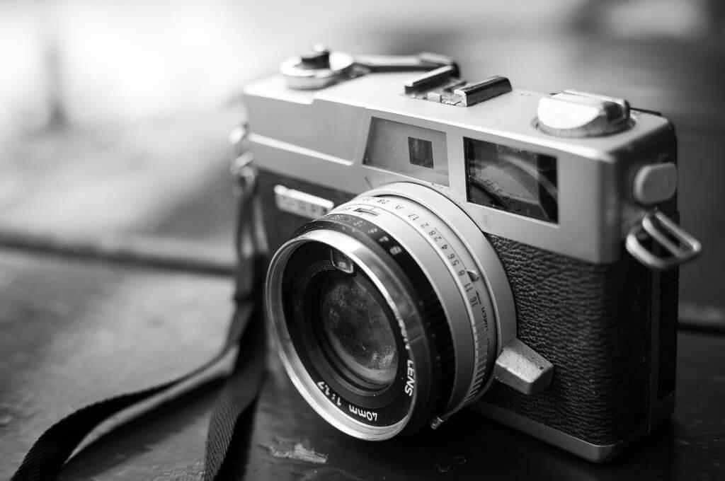 maquina fotografica analogica o funciona