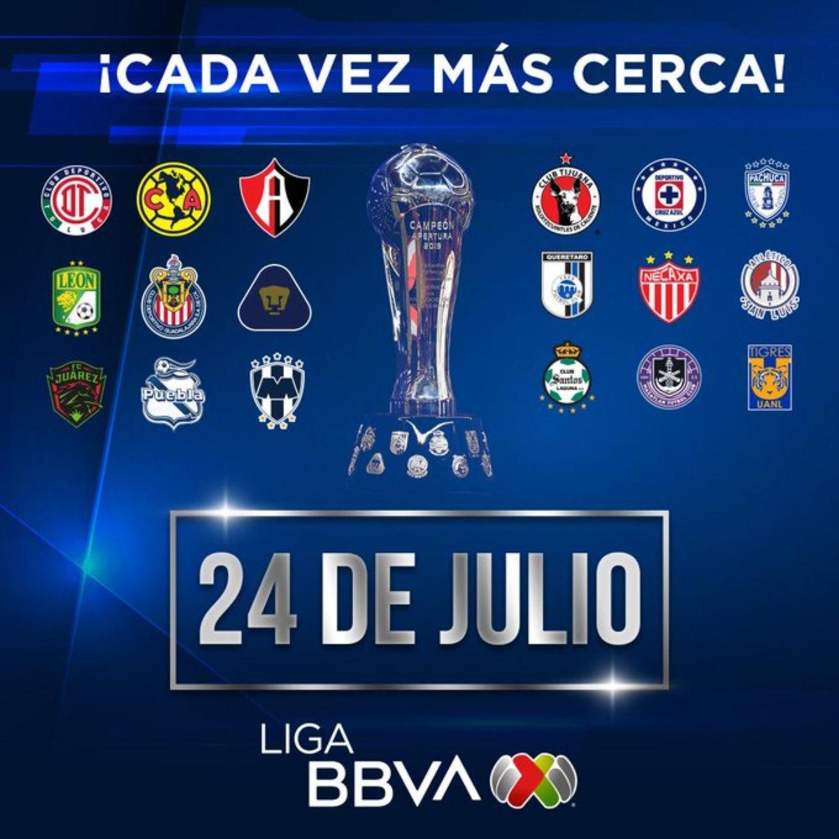 sorpresas en el calendario de la liga mx