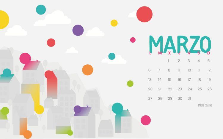 Marzo Calendario 2017 Más Recientes Calendario Descargable Marzo 2017 • Silo Creativo