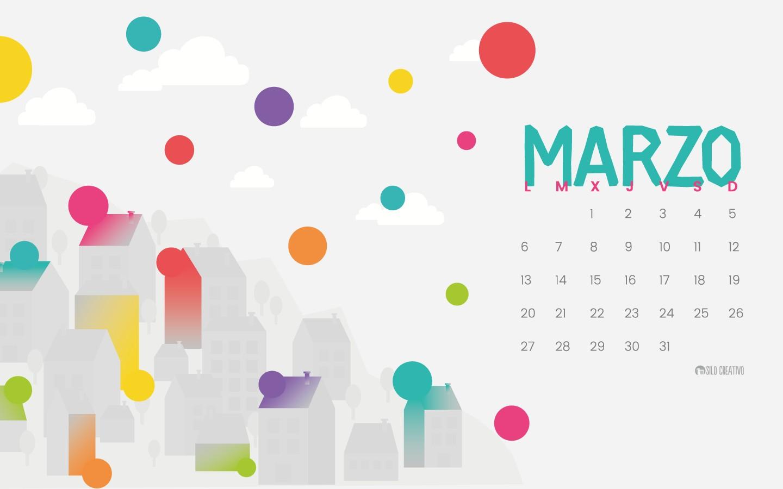 calendario descargable marzo 2017