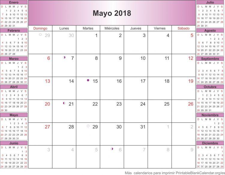 Mayo 2018 Calendario Más Recientemente Liberado Mayo 2018 Calendario Para Imprimir Calendarios Para Imprimir