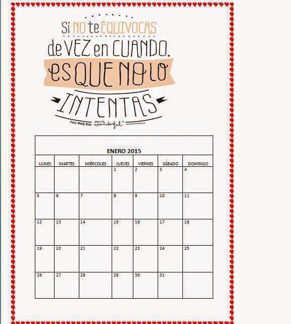 mr wonderful calendario