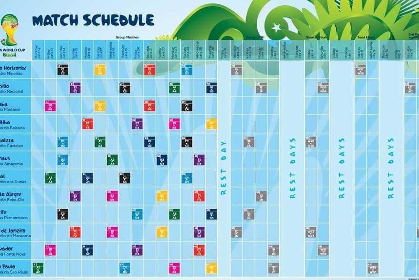 Calendario Brasil 0