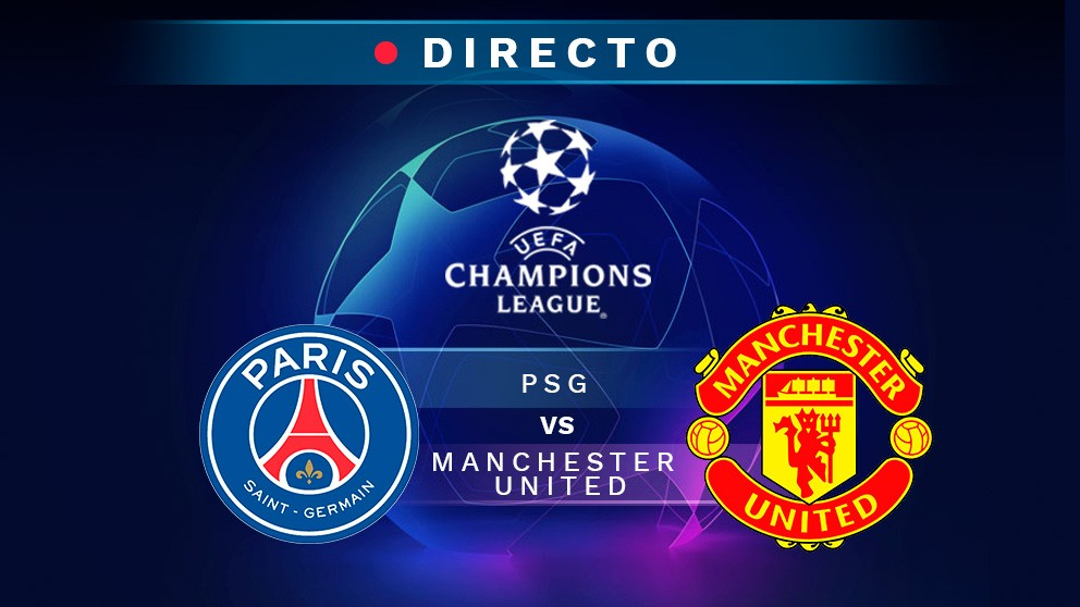 psg manchester united directo resultado goles partido hoy champions league