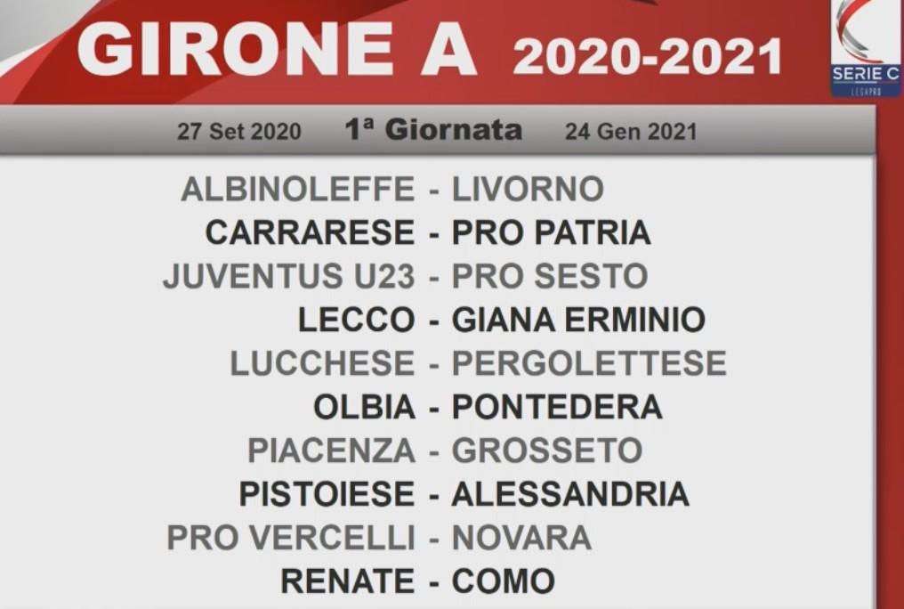 serie c 2020 21 sorteggiati i calendari dei tre gironi