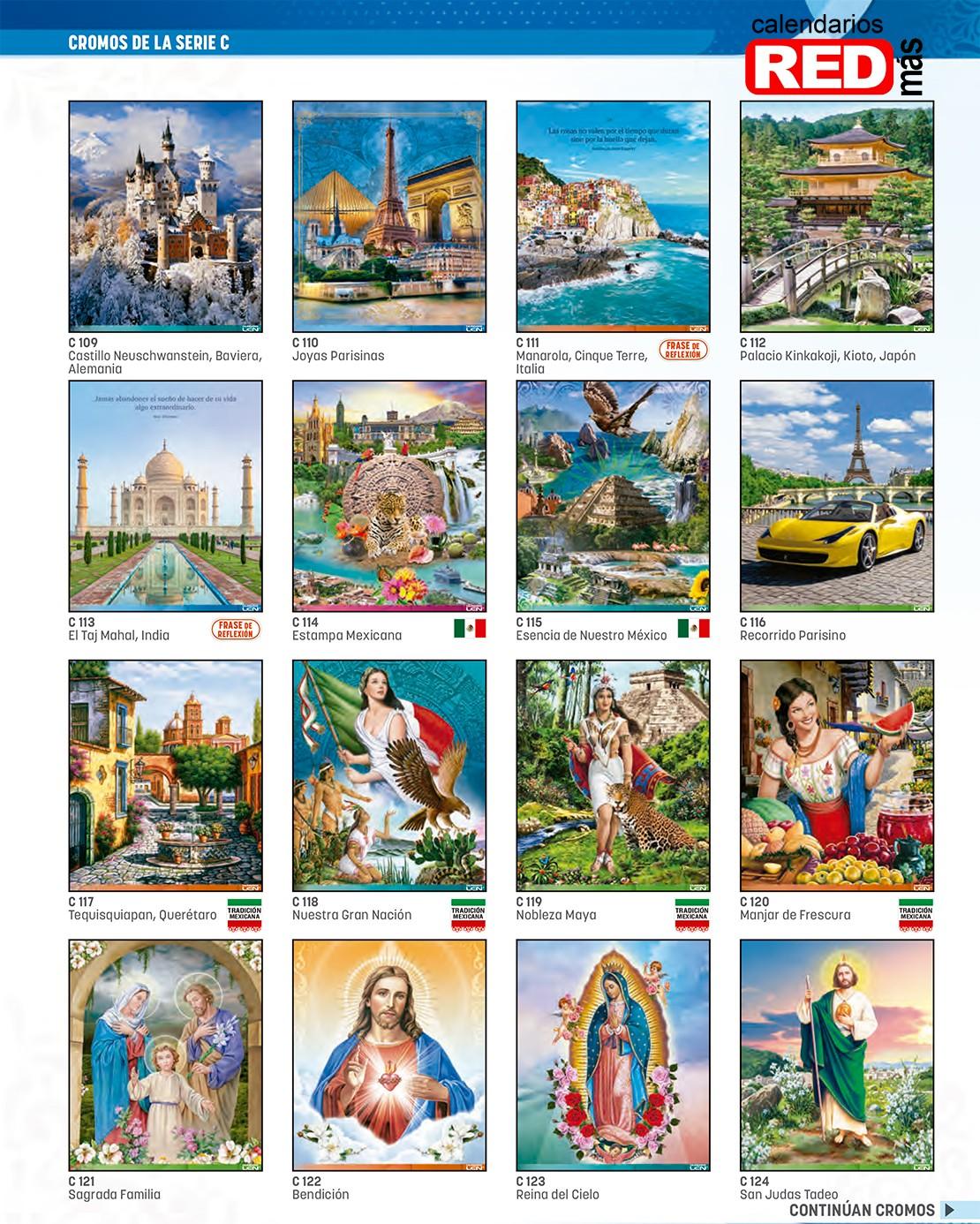 31 serie n calendarios de pared varilla mediano coleccion 2020