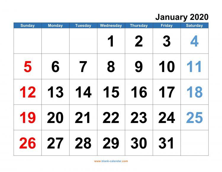 Weekend Calendario Más Recientes Monthly Calendar 2020