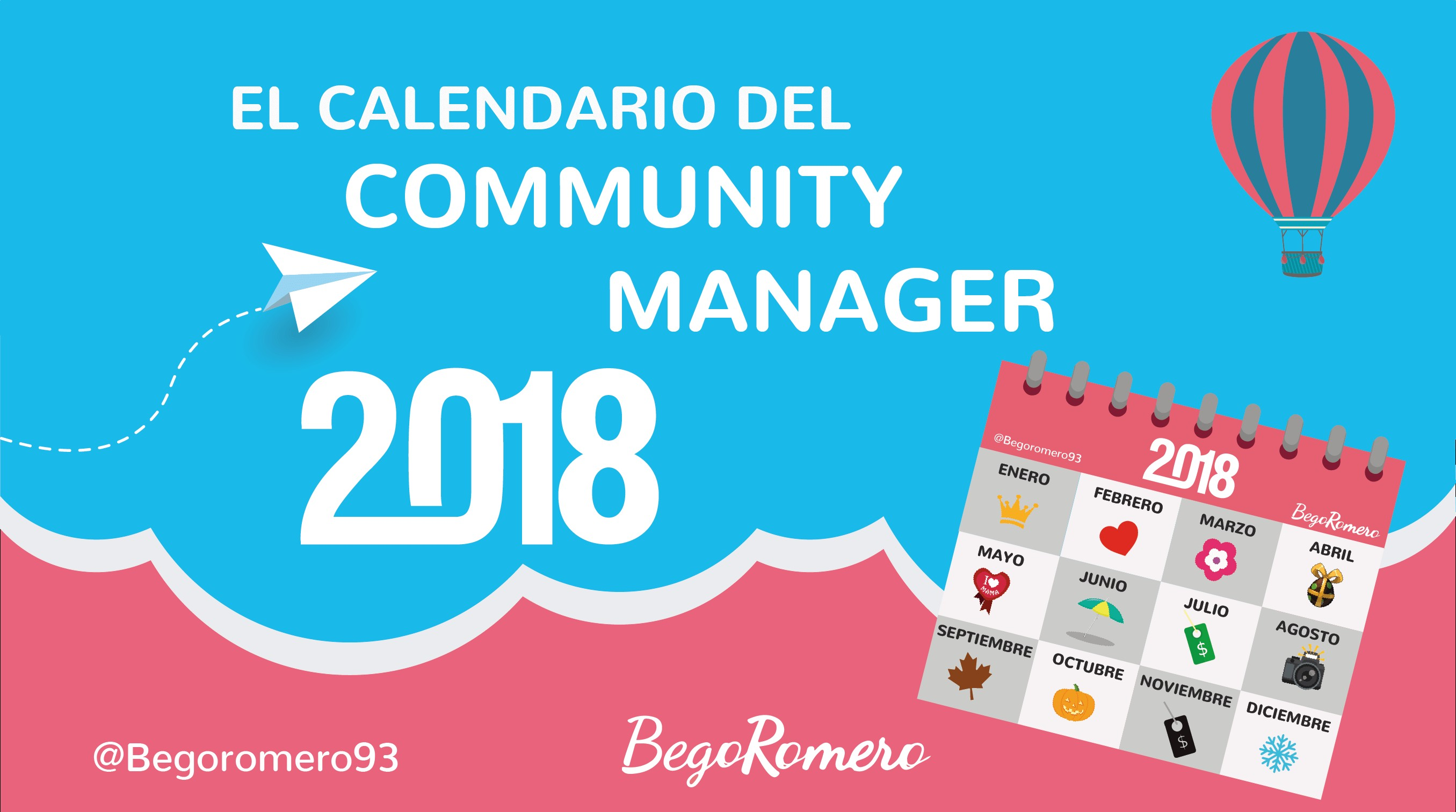 calendario del munity manager with calendarios diseos creativos