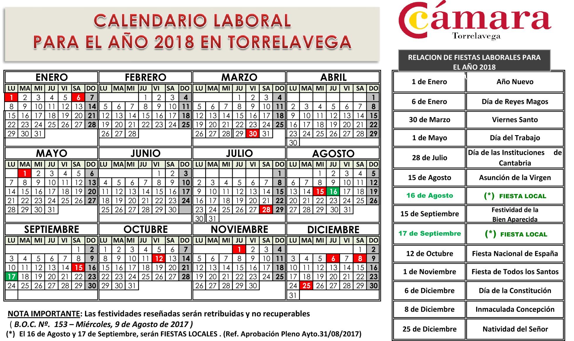 Calendario 2019 Festivos Más Arriba-a-fecha Ercio Of Calendario 2019 Festivos Más Reciente Calendario Laboral 2019 Publicado En El Boe