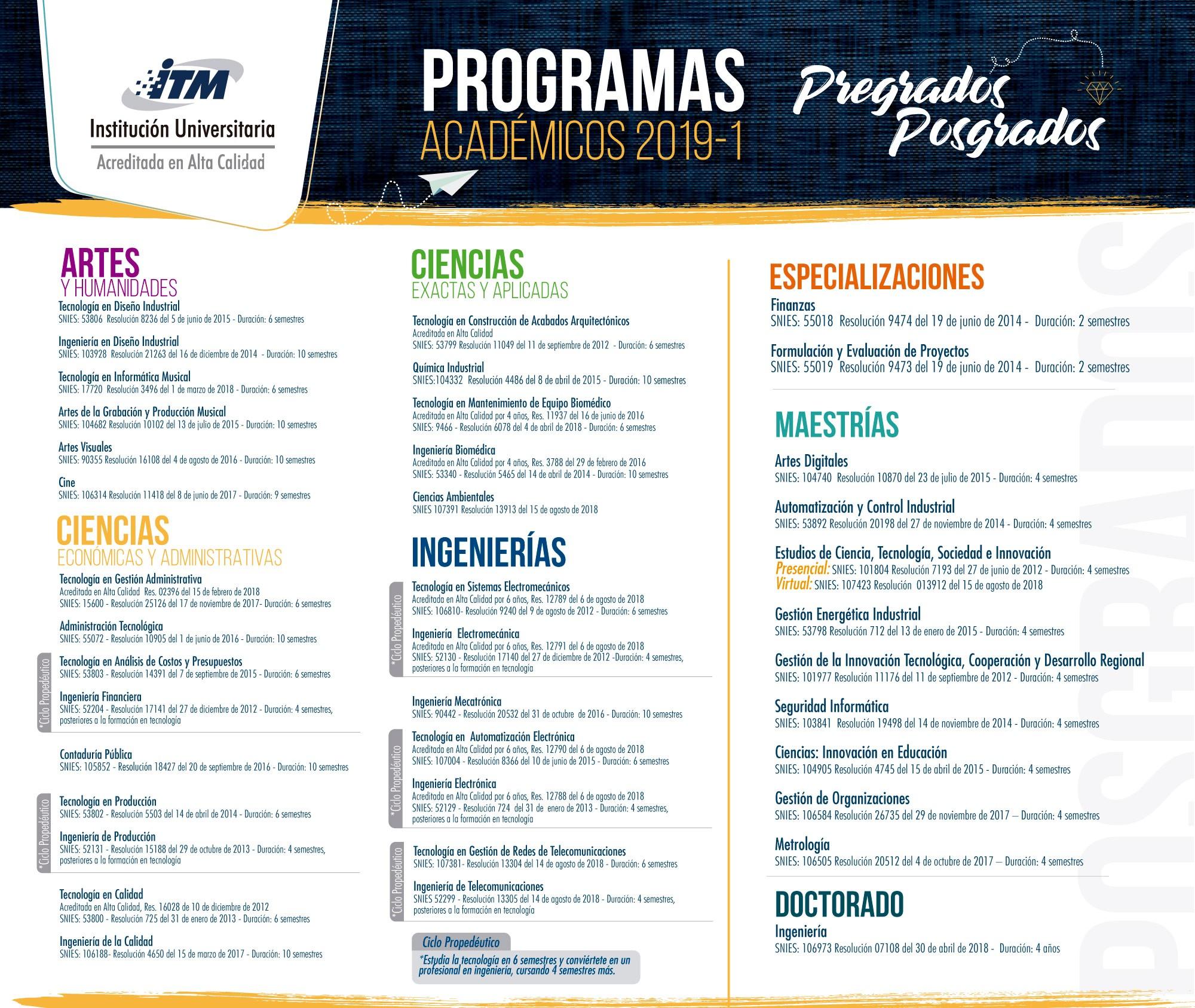 Programas Académicos