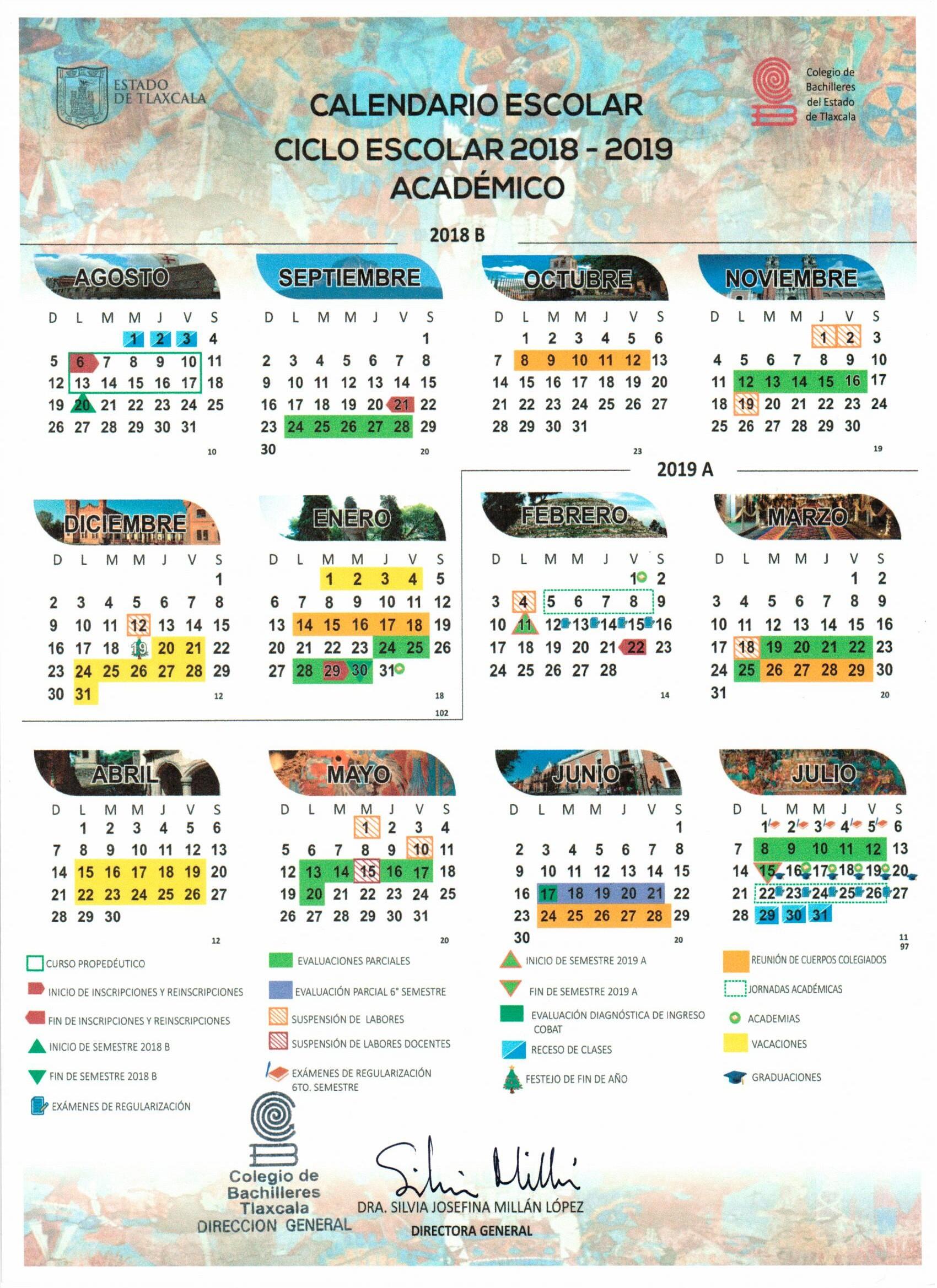 Calendario Escolar Rivas 2019 Más Caliente Cobat