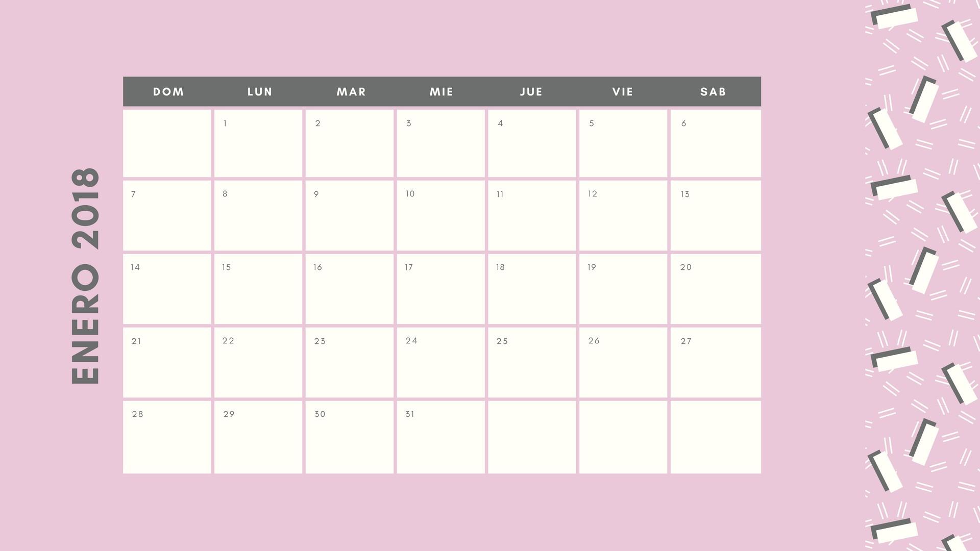 Calendario Febrero 2019 Argentina Imprimir Más Reciente Crea Calendarios Personalizados Online Gratis Con Canva