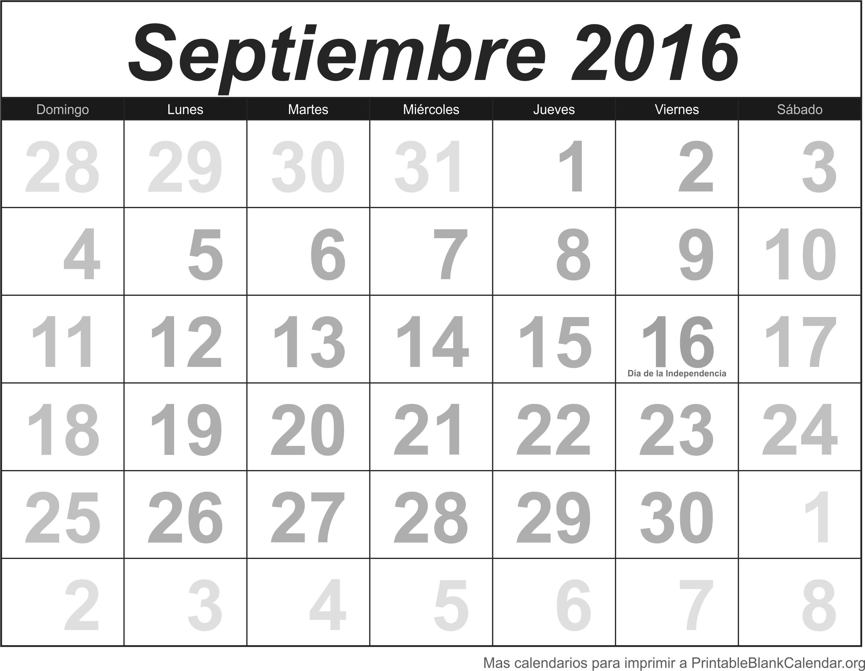 calendario para imprimir sep