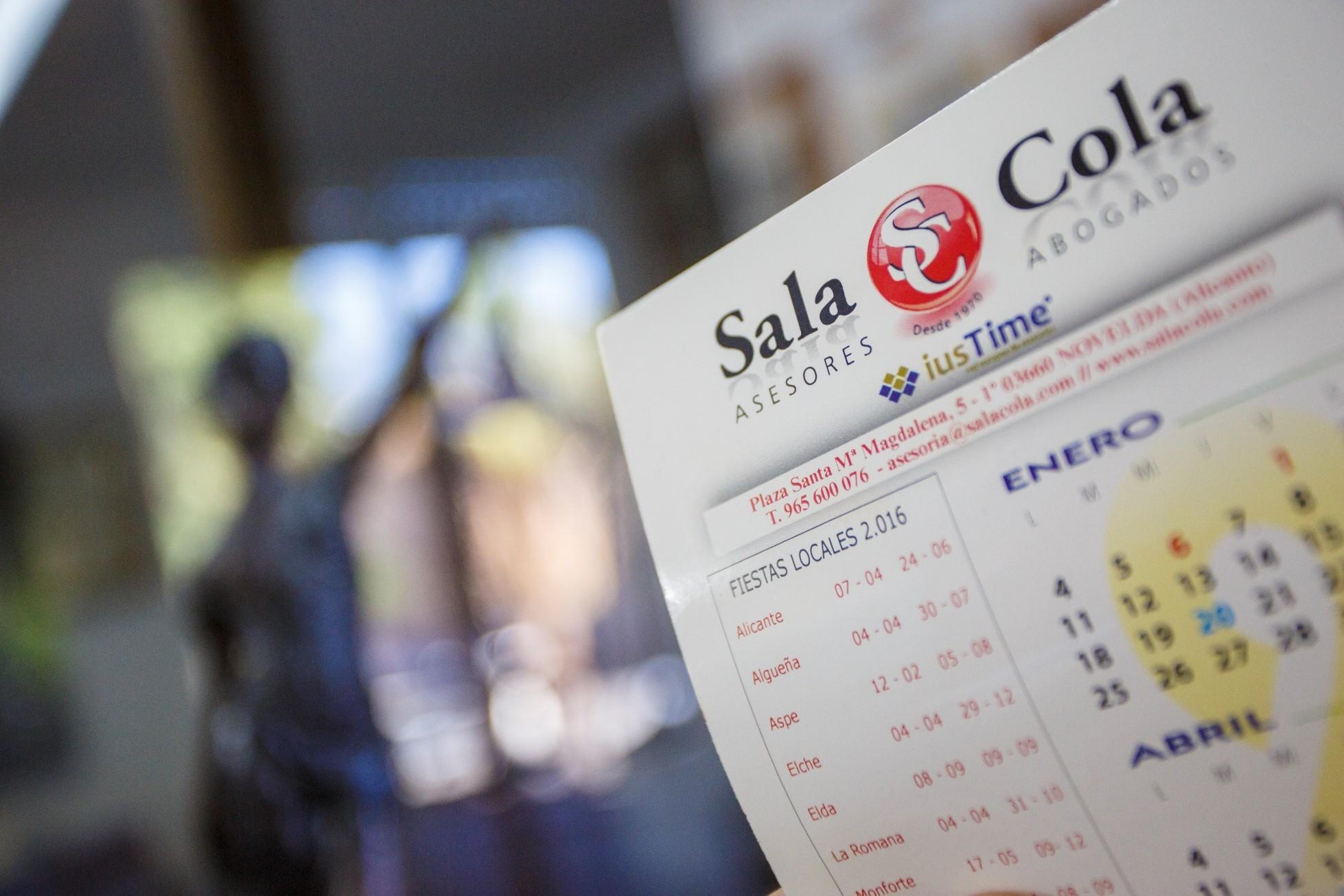 El calendario laboral de 2019 – Sala Cola – Abogados y Asesores