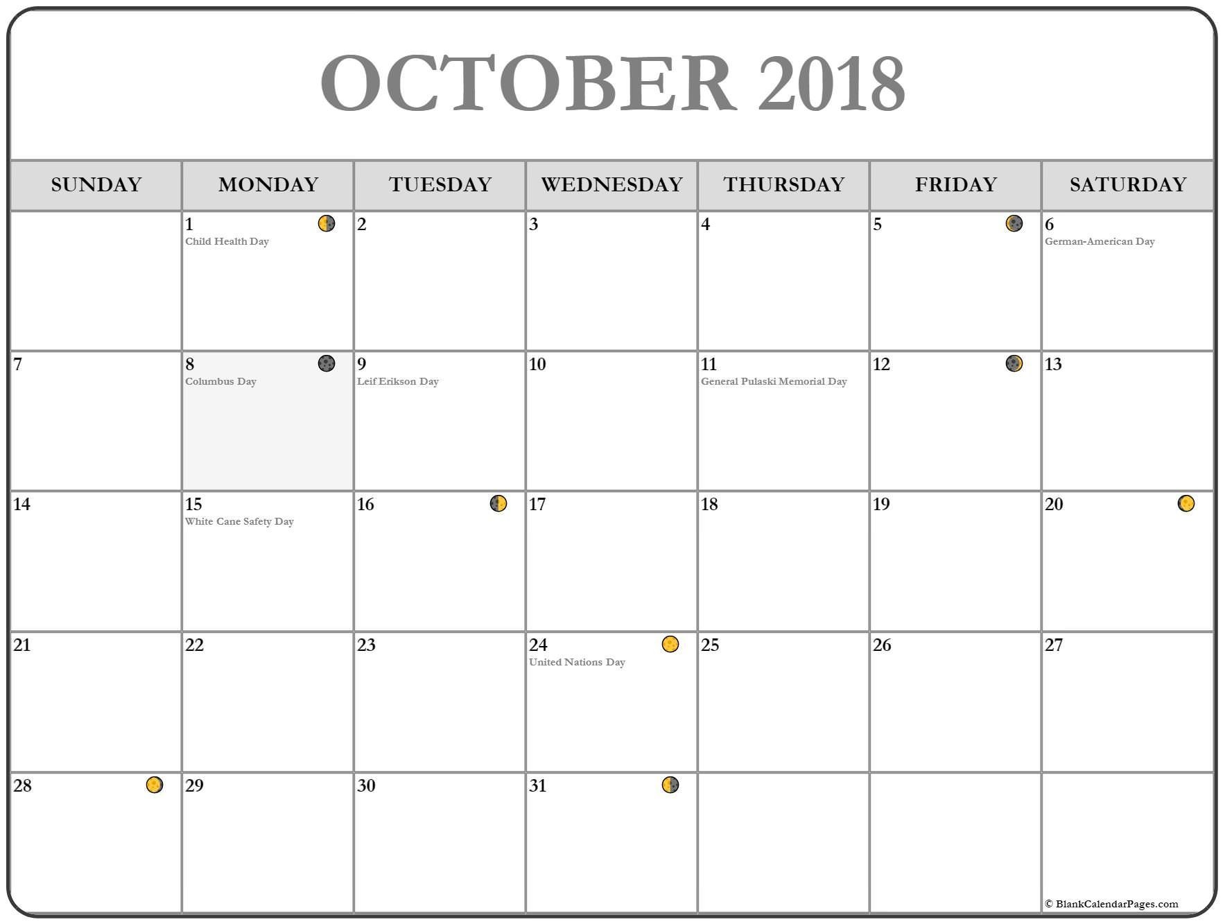 Calendario Noviembre 2017 Imprimir Gratis Más Recientes Calendar 2018 October Moon Phase October Calendar Printable Of Calendario Noviembre 2017 Imprimir Gratis Más Recientemente Liberado October 2016 Calendar Printable Template 8 Templates