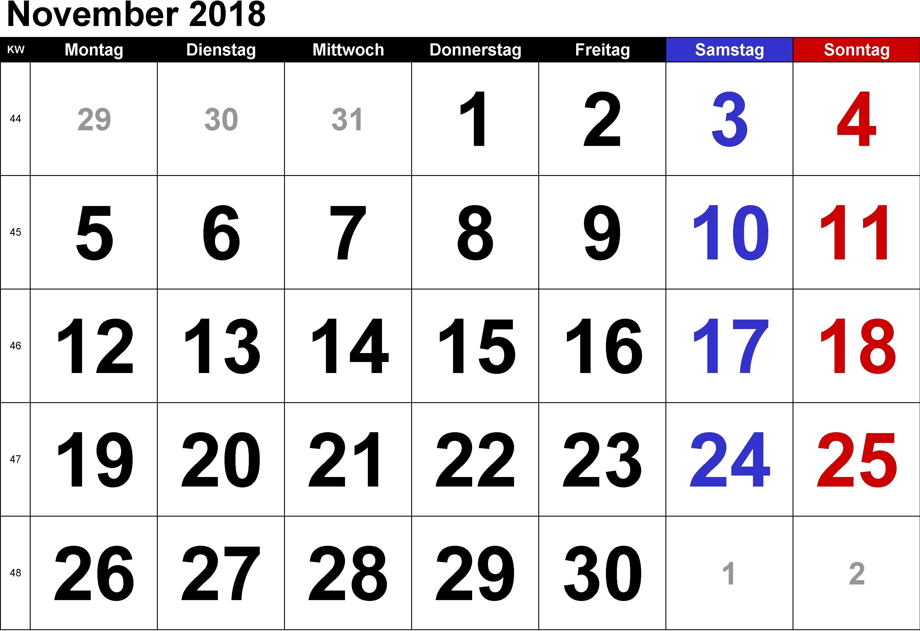 Kalender Jawa November 2018