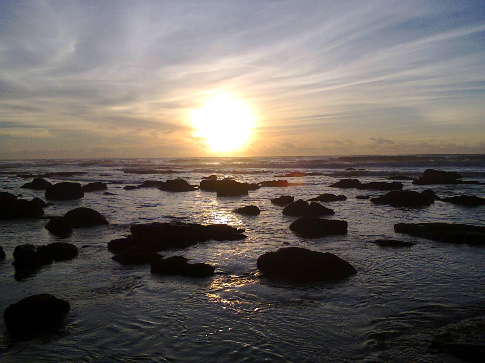 O p´r do Sol e o nascer do dia um mistério para o homem primitivo foto Paulo Nogueira