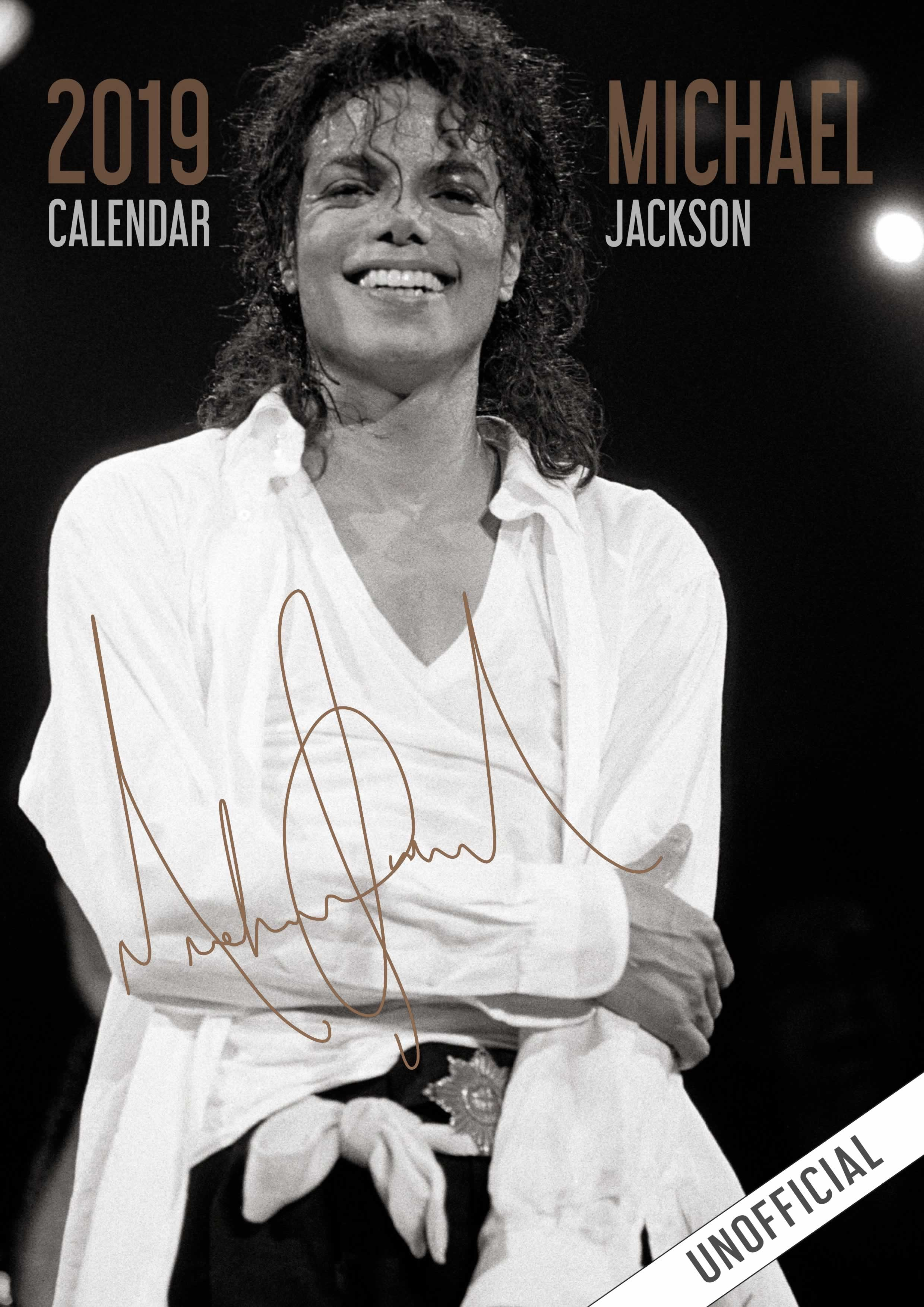 Michael Jackson Calendar 2019 Unofficial Product Code High Quality Full Colour A4 Wall Calendar