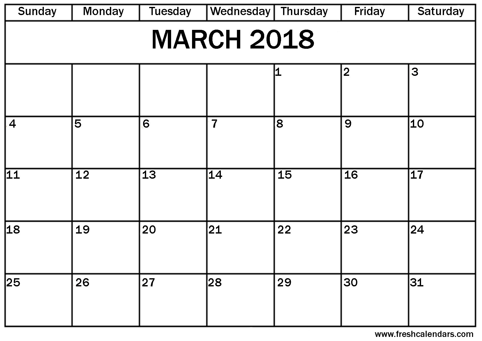 2018 Calendar With Holidays Usa Printable March 2018 Calendar Printable Pdf Word Excel Document Portrait