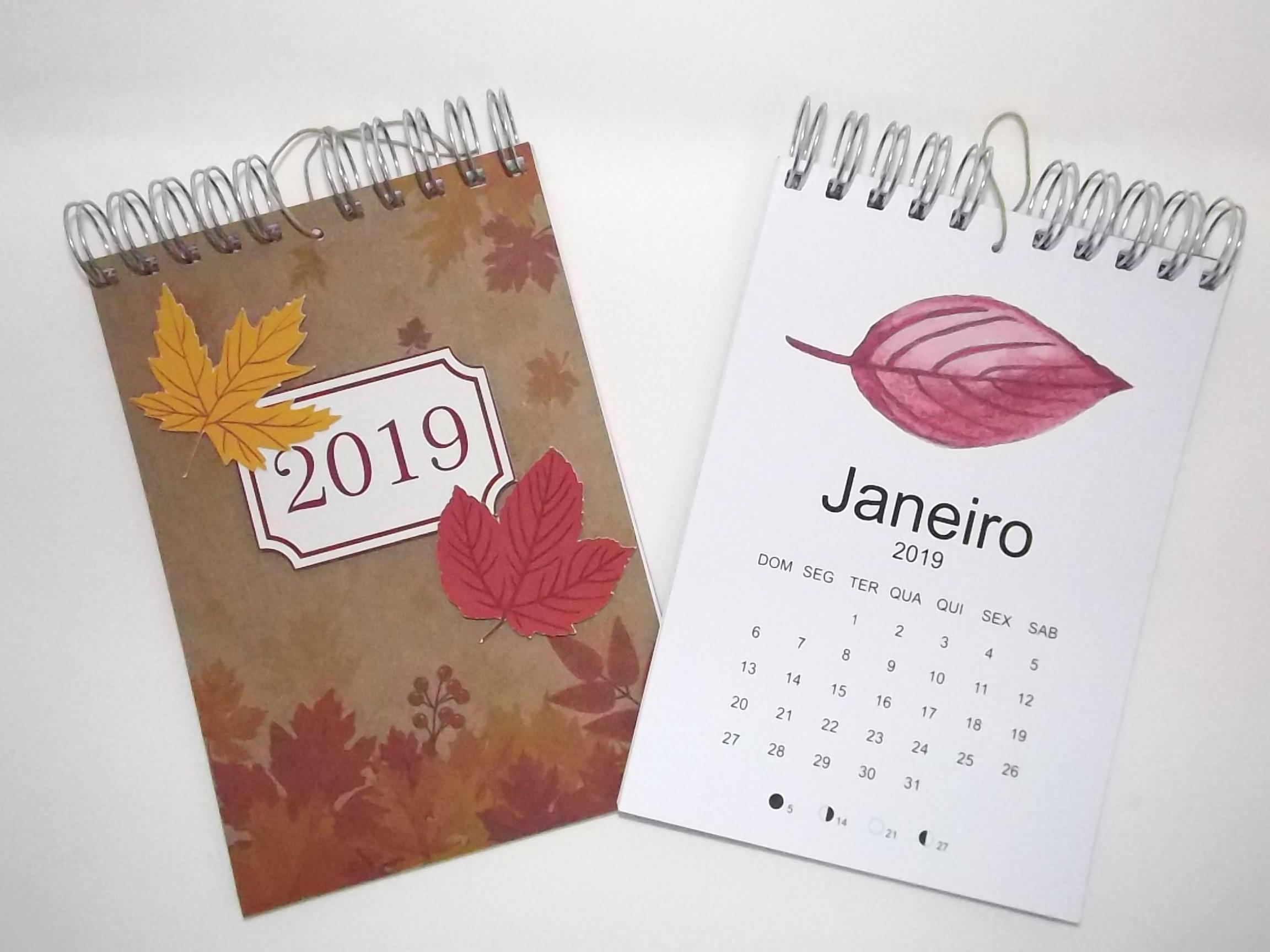 Calendario De Mesa Para Imprimir 2019 Gratis Más Recientes Calendário 2019